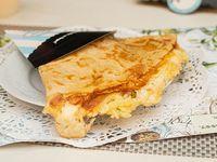Creps mix de tres quesos