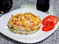 Tartas de jamón y queso