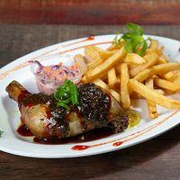 Pollo en salsa jamaiquina (Jerk)
