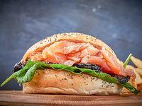 Sándwich bagel a elección