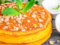 Pancakes de Ahuyama