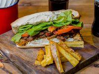 Sándwich de vacio braseado (individual)