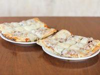 Promo - 2 x 1 pizza con muzzarella y 1 gusto