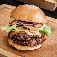Burger classic Memphis x2