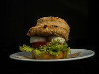 6 - Burger chicken crispy