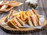 Emparedado Club sándwich