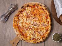 Pizza con tocino