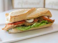 Sándwich de milanesa xl