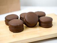 Alfajores de chocolate (6 unidades)
