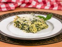Lasagna espinaca con pollo