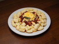 Ñoquis con salsa bolognesa