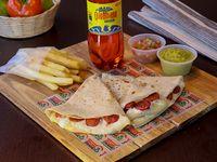 Combo Quesadilla Chorizo