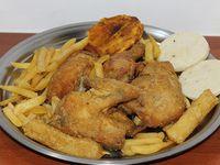 Medio Pollo Broaster