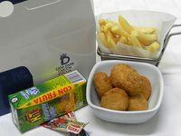 Menú Infantil 1- Nuggets de Pollo