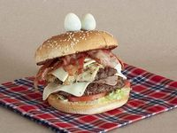 Hamburguesa Doble Carne Hot