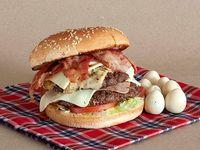 Hamburguesa Doble Carne Súper Hot