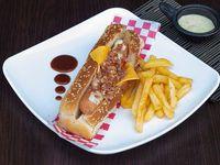 Hot Dog Cubo Food