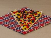 Porción Pizza de Frutas
