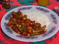 Curry tikka masala vegano