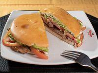 Sándwich de Lomo Liso Italiano