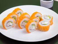 Sake kani roll (10 piezas)