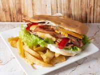 Sándwich de lomito premium