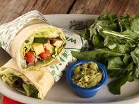 Wrap good time con ensalada de rúcula