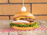 Burger Clásica Cúcuteña