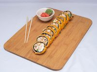 Roll de camarón apanado sin arroz (10 piezas)