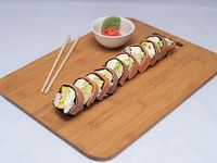 Roll de salmón si arroz (10 piezas)