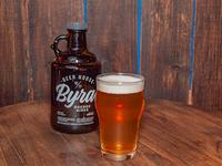 Growler de P.E.T 1 L de cerveza lager