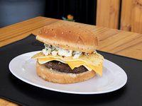 Hamburguesa cuatro quesos