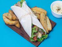 Shawarma ternera al malbec