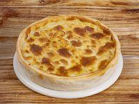 Tarta de roquefort y muzzarella