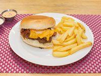 Promoción - hamburguesa especial + bebida 350ml