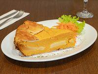 Tarta de calabaza y muzzarella