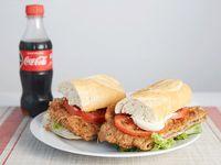 Promo 3 - Milanesa de carne en 2 panes + refresco 250ml