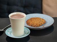 Promoción - Chocolate caliente + Cookie de avena