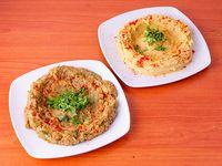 Combo 3 - Hummus 250 g + babaganush 250 g