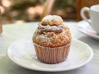 Muffin de vainilla con dulce de leche