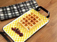 Waffle Gaufrini con Arándanos