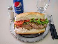 Promoción - Hamburguesa + Gaseosa en lata 355 ml