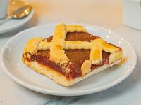 Cuadrado de Pasta Frola de Membrillo