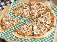 Pizza Pollo Champiñón
