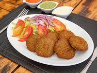 Porción de falafel