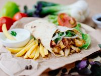 3X2 Shawarma Alemán