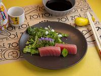 Sashimis de atún (2 unidades)
