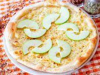 Pizza Brie y Manzana Verde
