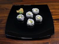 Uramaki vegetariano roll (5 unidades)