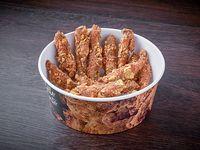 Crispy chicken sticks + salsa a elección